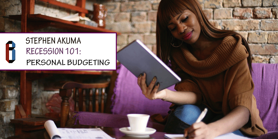 Recession 101: Personal Budgeting
